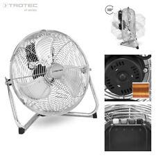 TROTEC TVM 12 Bodenventilator, Windmaschine, 55 Watt, 3 Stufen, 30 cm