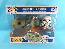 Funko POP! Star Wars Sandtrooper & Dewback Walmart Exclusive 2-Pack