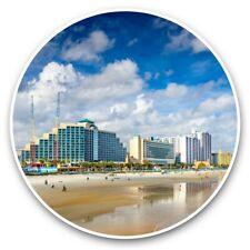 2 x Vinyl Stickers 25cm - Daytona Beach Florida America  #44854