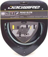 Jagwire Road Elite Link Ultra-Slick Brake Cable Kit Black + Free BC-R680 Cap x2