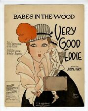 JEROME KERN EARLY BROADWAY Sheet Music 1915 Babes In The Wood GOLF BAG & CLUBS