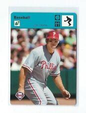 2004 Donruss Jim Thome Sportscaster BLUE Parallel, SP #3/40, Phillies Legend!