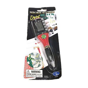 Stylus Micro Games Digital Black Jack Pen Poker Games Office New