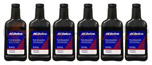 Genuine GM ACDelco Power Steering Fluid 16oz 10-5074 Set Of 6
