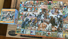 White Mountain 1000 Piece Puzzle The World Of Dogs 141 Missing 1 Piece