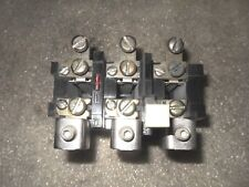 (V22) 1 CUTLER HAMMER BA43A THERMAL OVERLOAD RELAY