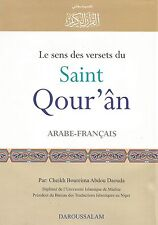 QURAN IN FRENCH LANGUAGE LE SENS DES VERSETS DU SAINT QOURAN ARABIC TO FRANCAIS
