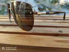 Chopard Men's SCHC28 SCH/C28 H18P Gold Fashion Pilot Polarized Sunglasses 63mm