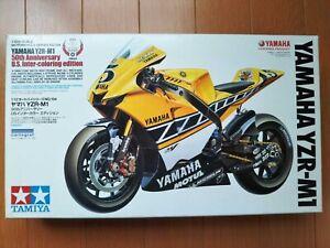 Tamiya 1/12 No.104 1/12 Yamaha YZR-M1 50th Anniversary US 14104