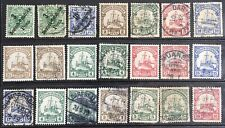 Germany 1897-1905 Colonies in East Africa MLH & Used