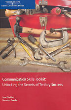 Communication Skills Toolkit Unlocking the Secrets of Tertiary Success Grellier