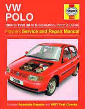 VOLKSWAGEN POLO riparazione manuale Haynes Officina Servizio Manuale 1994-1999 3500