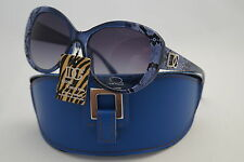 D.G SUNGLASSES EXCELLENT BLUE FASHION ANIMAL STYLE +FREE GIFT BLUE CASE *509