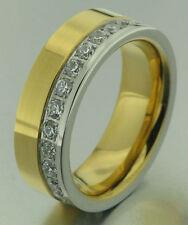 1 anillo mujer bicolor Alianza Anillo De Compromiso Anillo De Bodas