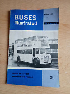Buses Illustrated No 132 March 1966