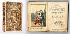 Kotzebue: Almanach dramatischer Spiele, kolor. Tafeln, 1813