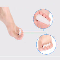 Relief Pain Align Toes Corrector Health Care Orthotics Silicone Toe Separators