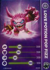 Love Potion Pop Fizz Skylanders Trap Team Stat Card