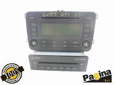 AUTORADIO ORIGINALE LETTORE CD + CARICATORE 6 CD GOLF 5 (2003-2009)