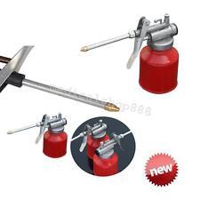 High Pressure Pump Action Oiler  Lubrication Feed Oil Can Spray Gun Pot Car NEW