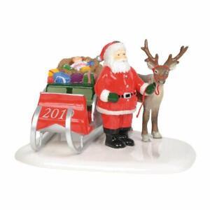 Department 56 Snow Village Santa Comes To Town 2019 (6003152)