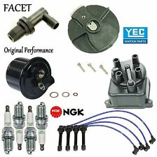 Tune Up Kit Cap Rotor Filters Plugs Wire for Honda Civic del Sol 1.6L 1993-1994