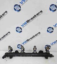 Volkswagen Polo 6R + Golf MK6 2009-2014 1.4 Fuel Injectors X4 + Rail CGGB CGGA