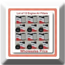 Lot of 12 Engine Air Filter A45091 CA8037 Fits:  Cadillac Chevrolet GMC Trucks