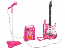 E-Gitarre Kinder Mikrofon Verstärker Stativ Gitarre SET 4709