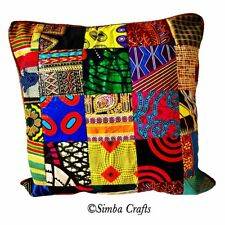 Ankara / African Print Decorative Throw Pillow Covers (No inserts included)