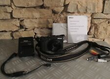 Nikon Coolpix P7700 appareil photo numérique 12 MP noir écran sur rotule Video