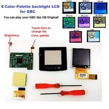 8 Color Palette Back Light Backlight LCD Kit For Nintendo Game Boy Color Console