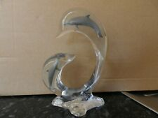 Robert Wyland Dolphin Realm Acrylic Sculpture Full Round Animal Signed Limited