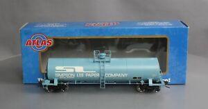 Atlas 9255-1 O Scale Simpson Lee Tank Car #86202 (2-Rail) EX/Box