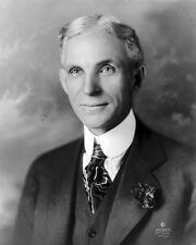 New 8x10 Photo: Automobile Manufacturer and Industrial Pioneer Henry Ford