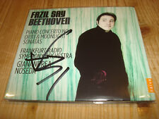 FAZIL SAY Beethoven Piano Concerto 3 Sonatas 14 & 32 CD NEW Signed NEU Signiert