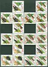 EDW1949SELL : SURINAME 1993 Sc#938-41(8) 942-53(3) 959-62(14) Cplt sets Cat $316