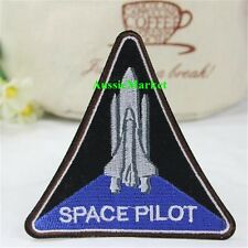 1 x patch patches iron sew on space program pilot shuttle orion astronaut nasa