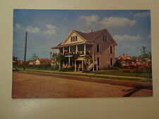 The Albright at 5th Avenue North Wildwood New Jersey Motel 1950's Postcard