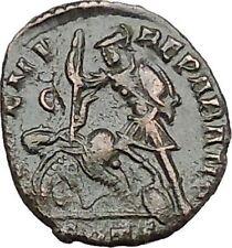 CONSTANTIUS II Constantine the Great son Ancient Roman Coin Battle Horse  i41165