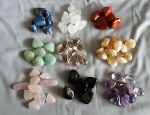 Tumblestones; crystals; quartz; gemstones, tumbled stones