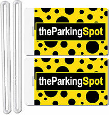 2x The Parking Spot Luggage Tags Makes Your Baggage Easy To Spot! New NIP