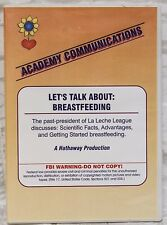 The Bradley Method Teacher's DVD Lets Talk About Breastfeeding La Leche League
