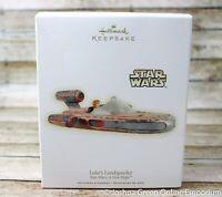 2009 Hallmark Keepsake Ornament Luke's Landspeeder Star Wars A New Hope