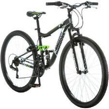 "Men's Mountain Bike 27"".5 Mongoose Ledge 2.1 Black Bicycle Light Frame"