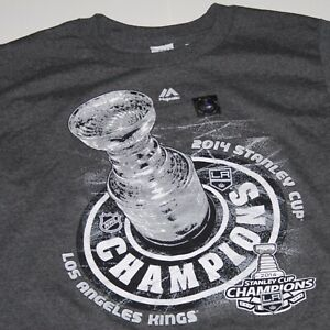 NWT Los Angeles Kings 2014 NHL Stanley Cup Champions Hockey T Shirt Youth Medium