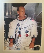 Astronaut Charles Conrad Signed Official Nasa Apollo 12 Mission Photograph