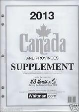 2013 Supplement to fit Harris Canada Album - 49 Pages!
