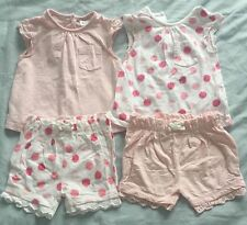 Florence & Fred 100% Cotton Girls' Clothing Bundles (0-24 Months)