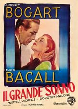 Big Sleep Italian Movie Poster 24x36